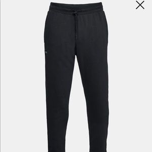 Under Armour Rival Sweats Track Pants Small Black
